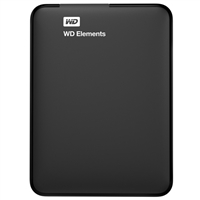 "WD Elements Portable (Factory-Recertified) 1TB 2.5"" USB 3.0 External Hard Drive"