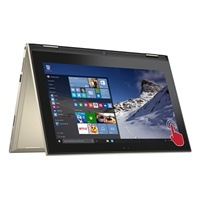 """Dell Inspiron 11 3000 11.6"""" 2-in-1 Laptop Computer - Gold"""