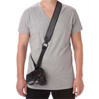 LowePro UltraFit Sling Strap For Men - Charcoal