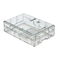 MCM Electronics Enclosure for Raspberry Pi B+/2/3 - Clear