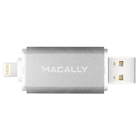 MacAlly 64GB Lightning/USB Flash Drive for iPhones, iPads, and Computer