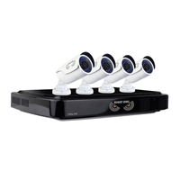 Night Owl 4 Channel DVR with 1TB Hard Drive and 4 1080p HD Cameras
