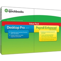 Intuit Desktop Pro with Enhanced Payroll 2017