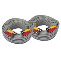 Night Owl 60 ft. BNC Extension Cables x2