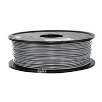 Inland 3mm Silver PLA 3D Printer Filament - 1kg (2.2 lbs)
