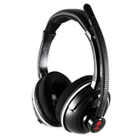 Turtle Beach Ear Force PX3 Wireless Programmable PS3 Gaming Headset Refurbished - Black