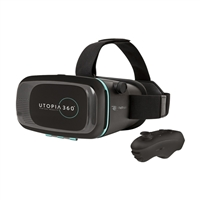 EmergeUtopia 360 Virtual Reality 3D Headset & Bluetooth Controller