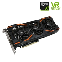 Gigabyte GeForce GTX 1080 Overclocked 8GB GDDR5X Video Card w/ WindForce Cooling