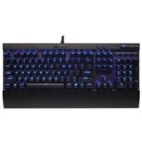 Corsair K70 LUX Mechanical Keyboard, Backlit Blue LED - Cherry MX Red