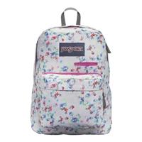 """Jansport Digibreak Backpack Fits up to 15"""" - Multi Gray/Floral Haze"""