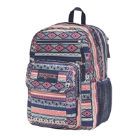 "Jansport Digital Student Backpack Fits up to 15"" - Navy/Color Geo"