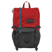 "Jansport Hatchet Backpack Fits up to 15"" - Forged Gray/Red Tape"