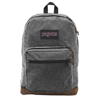 "Jansport Right Pack Digital Edition Backpack Fits up to 15"" - Black White Herringbone"
