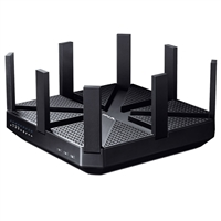 TP-LINK Archer C5400 AC5400 Wireless Tri-Band MU-MIMO Gigabit Router - Black