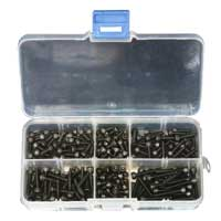 Banggood M3 Steel Hex Socket Head Cap Screw Assortment Set - 180 Pieces