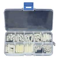 Banggood Assortment Stand off Accessories Kit Set - 140 Pieces