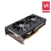 Sapphire Technology Radeon NITRO+ RX 480 Overclocked 4GB GDDR5 Video Card w/ Backplate