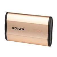 ADATA SE730 250GB USB 3.1 Type-C External SSD - Gold