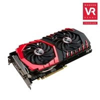MSI Radeon RX 480 GAMING X 8GB GDDR5 Video Card w/ Zero Frozr Cooler and RGB LED