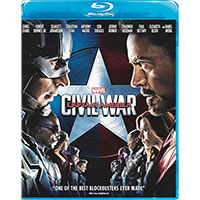 Disney Captain America Civil War Blu-Ray