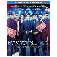 Trimark Now You See Me 2 Blu-Ray
