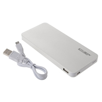 Accellorize Portable 8,000mAh Battery Charger for Tablets & Mobile Devices