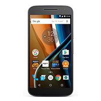 Motorola Moto G Play (4th Gen), 2GB RAM/16GB Storage, LTE, Black, Unlocked Android Smartphone