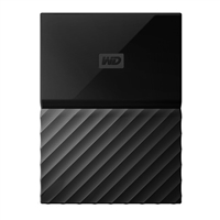WD My Passport 4TB 5,400 RPM USB 3.0 Hard Drive - Black