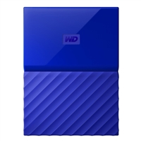 WD My Passport 4TB 5,400 RPM USB 3.0 Hard Drive - Blue