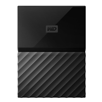 WD My Passport 3TB 5,400 RPM USB 3.0 Hard Drive - Black