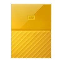 WD My Passport 3TB 5,400 RPM USB 3.0 Hard Drive - Yellow