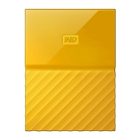 WD My Passport 2TB 5,400 RPM USB 3.0 Hard Drive - Yellow