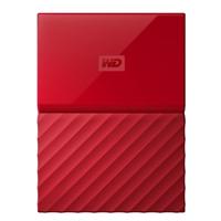 WD My Passport 1TB 5,400 RPM USB 3.0 Hard Drive - Red