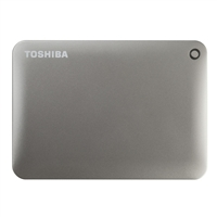 Toshiba Canvio Connect II Portable 3TB Hard Drive - Gold
