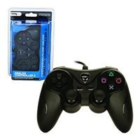 Innex PS2 - Controller - Wired - New - Similar functions of DualShock 2 - Black (TTX Tech)