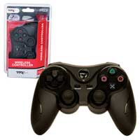 Innex PS3 - Controller - Wireless - 2.4 GHZ Controller - Black (TTX Tech)