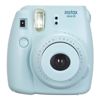 Fuji Instax Mini 8 Instant Film Camera Blue