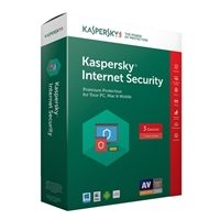 Kaspersky Internet Security - 3 Devices (PC/Mac)
