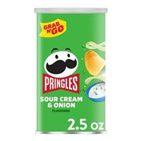 Continental Concession Supplies Pringles Sour Cream and Onions 2.5oz