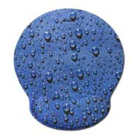 Allsop Raindrop Mouse Pad Pro - Blue