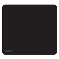 Allsop Nature's Touch Microfiber Mouse Pad - Black