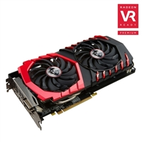 MSI Radeon RX 470 GAMING X Overclocked 4GB GDDR5 Video Card w/ Twin Frozr VI Cooling