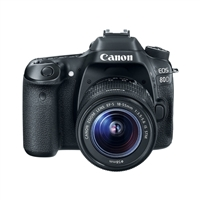 Canon EOS 80D 24.2 Megapixel Digital SLR Camera Kit with 18-55mm Lens Kit