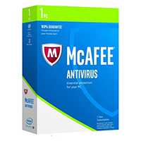 McAfee Anti Virus 2017 - 1 Device (PC)