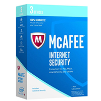 McAfee Internet Security 2017 - 3 Devices (PC)