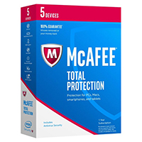McAfee Total Protection 2017 - 5 Devices (PC)