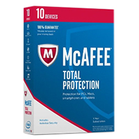 McAfee Total Protection 2017 - 10 Devices (PC)