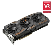 ASUS Radeon RX 480 ROG STRIX Overclocked 8GB GDDR5 Video Card