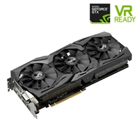ASUS ROG Strix GeForce GTX 1080 Overclocked Triple-Fan 8GB GDDR5X PCIe Video Card