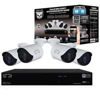 Night Owl HDA10P-10BU-842-BB 4 Camera 8 Channel DVR Video Security System